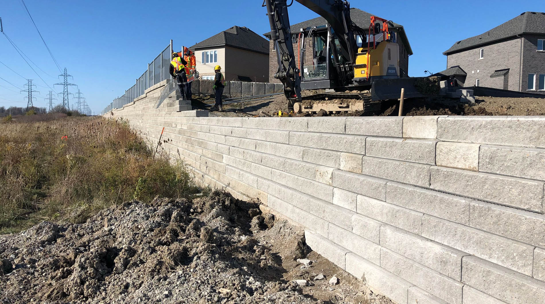 Twin City Interloc - Retaining Wall